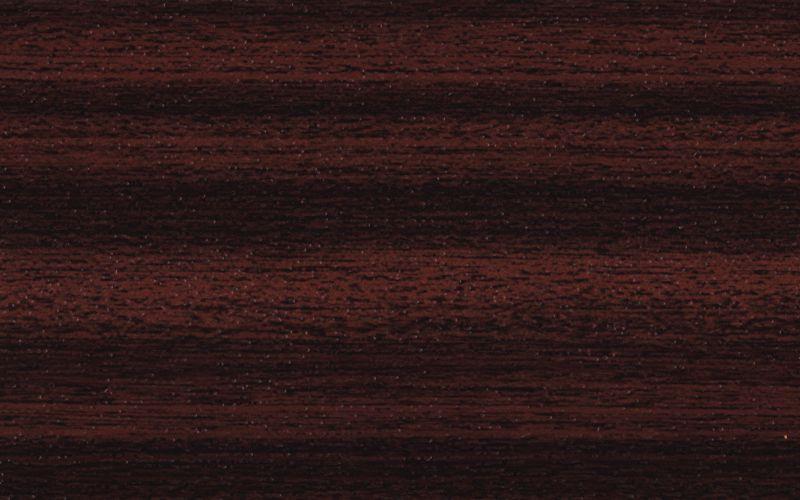 Okleina rolety zewnętrznej w kolorze mahoń
