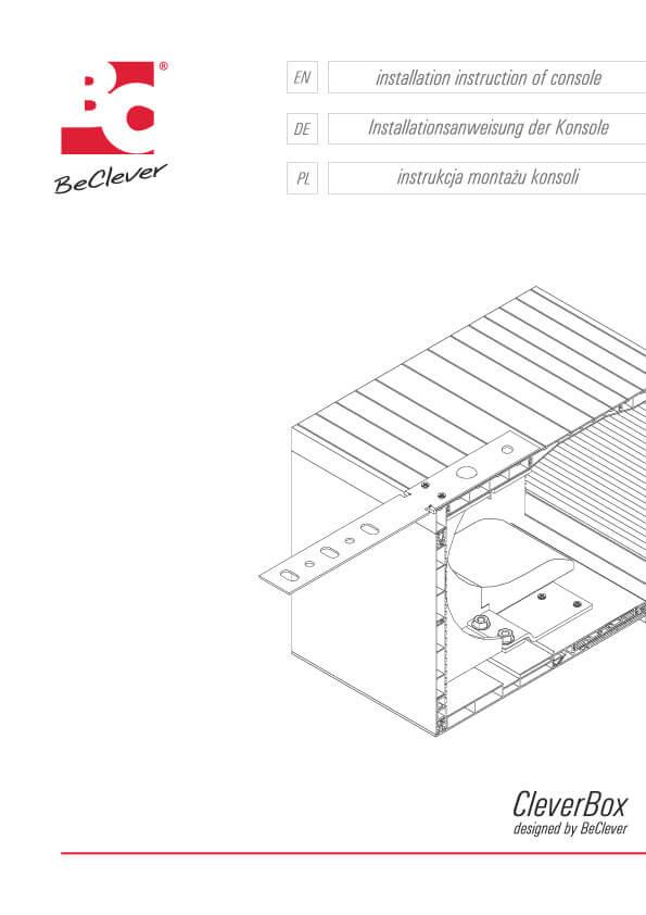 Instrukcja montażu skrzynki rolety nadstawnej CleverBox