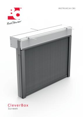 Instrukcja produkcji i montażu rolet przeciwsłonecznych CleverBox