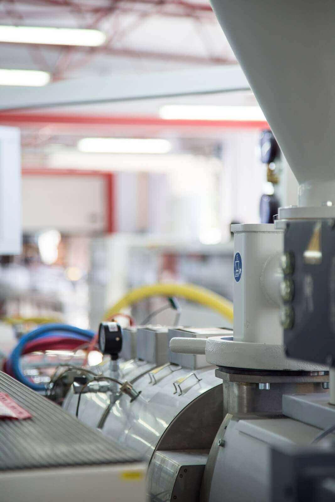 Maszyny w dziale produkcji BeClever