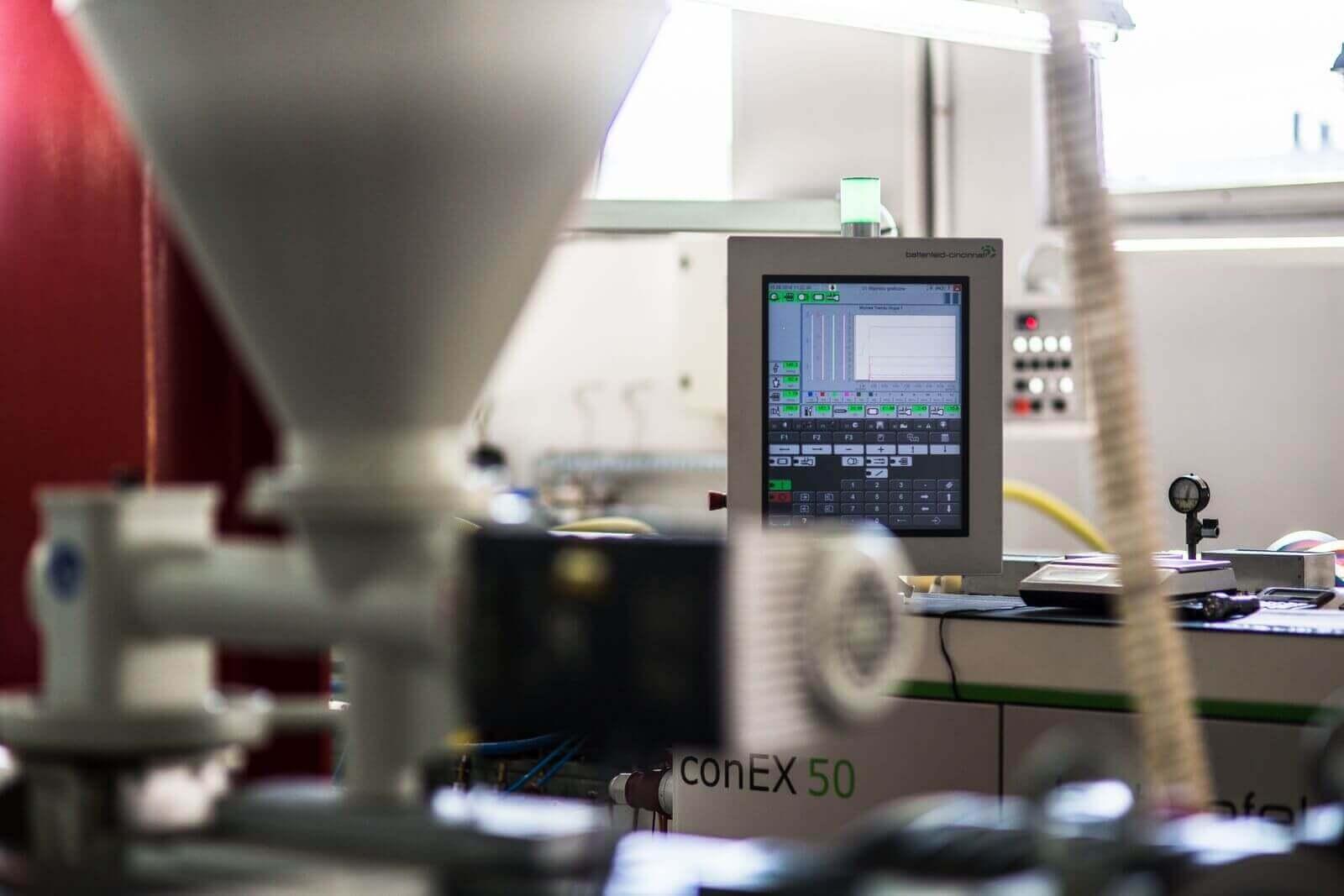 Panel sterujący maszyny pakującej conEX 50