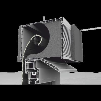 Pokrywa rewizyjna skrzynki rolety nadstawnej CleverBox w wersji Thermic