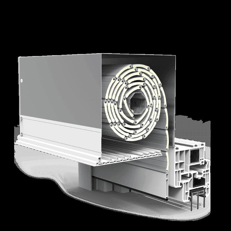 Skrzynka rolety zewnętrznej podtynkowej QuadBox
