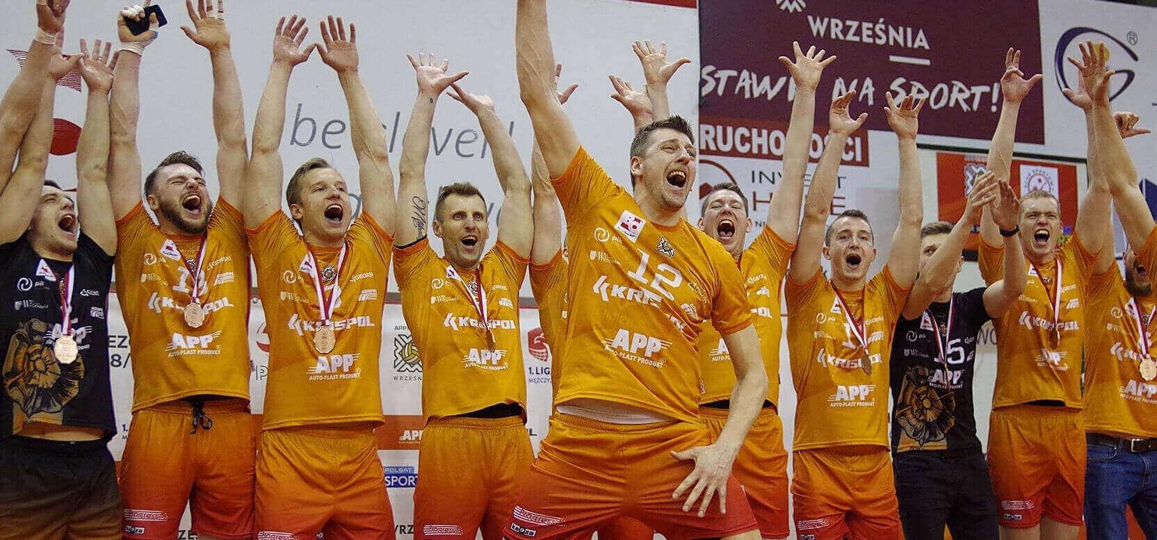 Firma BeClever jest sponsorem drużyny siatkarskiej Krispol Września