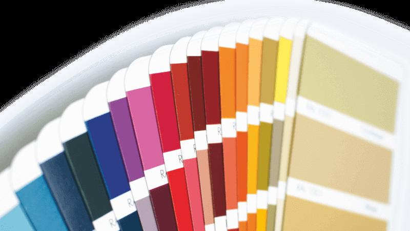 Wzory kolorów oklein rolet zewnętrznych oferowanych w BeClever