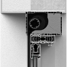 Skrzynka rolety typu screen CleverBox bez zabudowy