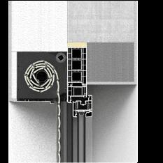 Sposób montażu rolety fasadowej QuadBox z zastosowaniem poszerzeń okna