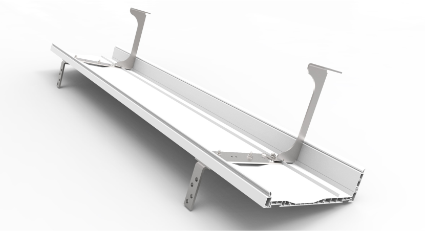 Stalowe profile zapewniające sztywność i bezpieczeństwo podczas montażu