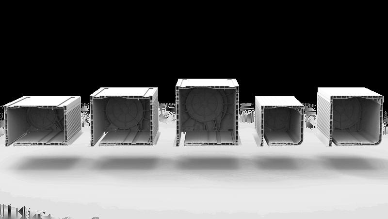 5 wymiarów skrzynek rolety nadstawnej